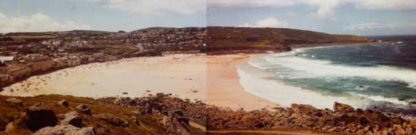 The impressive sands of St Ives, June 1985 - Marian Edmunds